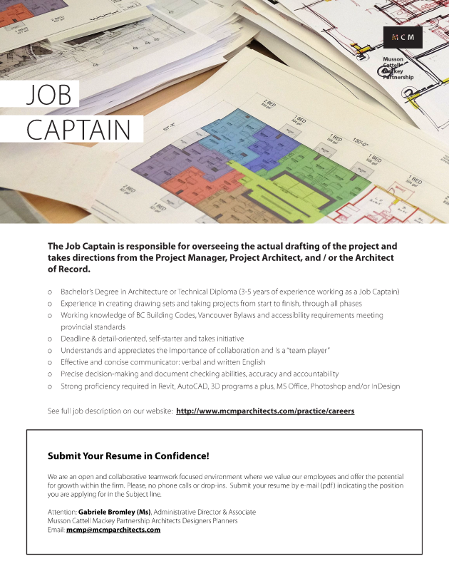 Job Captain Oct 19